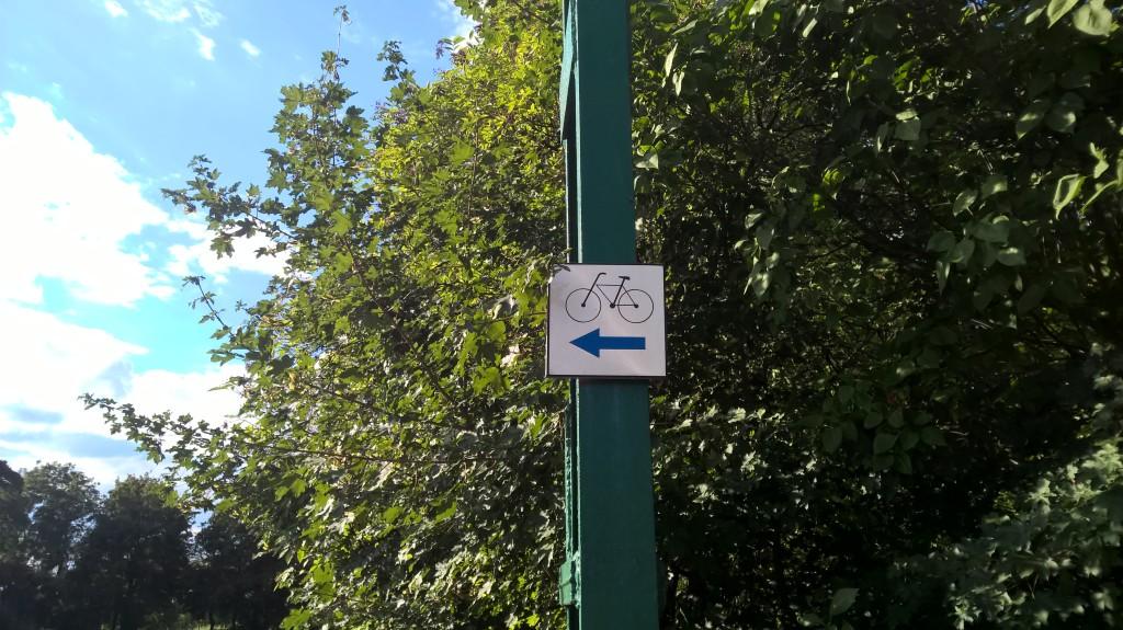 Trasa rowerowa Zabrze Zaborze